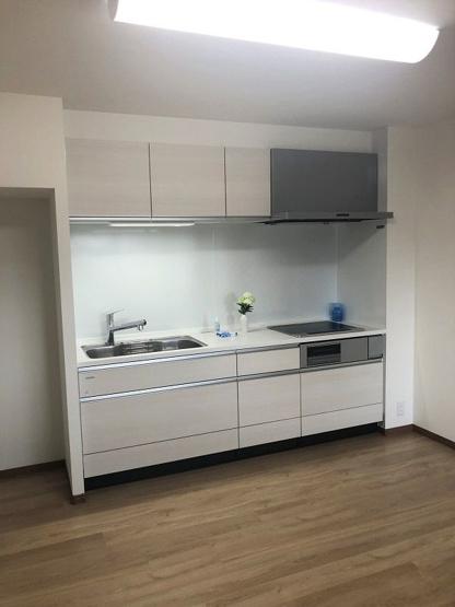 【キッチン】西区周船寺2丁目 中古マンション 4LDK 4階