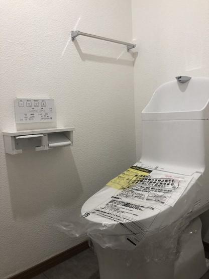 【トイレ】西区周船寺2丁目 中古マンション 4LDK 4階