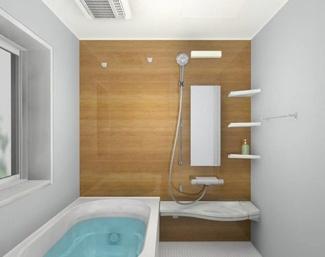 【LIXIL リノビオⅤシリーズ】 浴室に窓が付いているので、換気もしっかり出来ます。