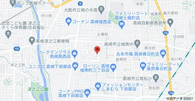 【地図】CLASSY城南 (株)Roots