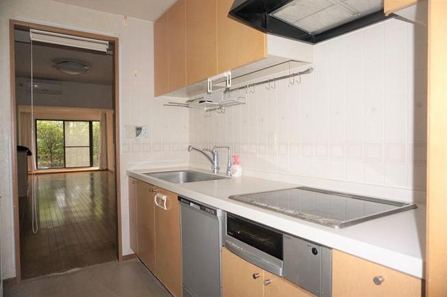 【キッチン】西区愛宕浜2丁目 中古マンション 3LDK 1階