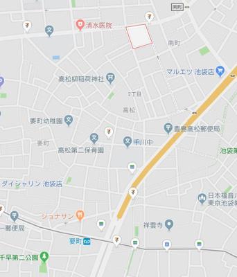 【地図】ハーモニーテラス高松