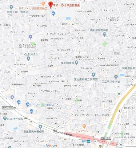 【地図】AVAND千川