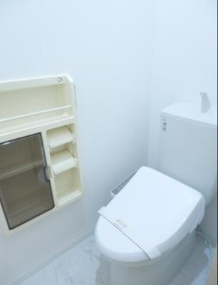 【トイレ】堀の内コーポA