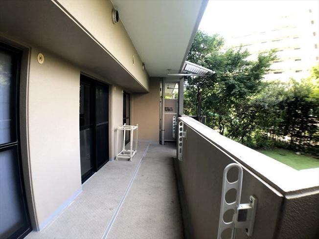 【バルコニー】西区愛宕浜2丁目 中古マンション 弐番館 2SLDK