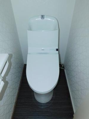 【トイレ】南旭が丘戸建て