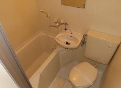 【浴室】ハタハイツ