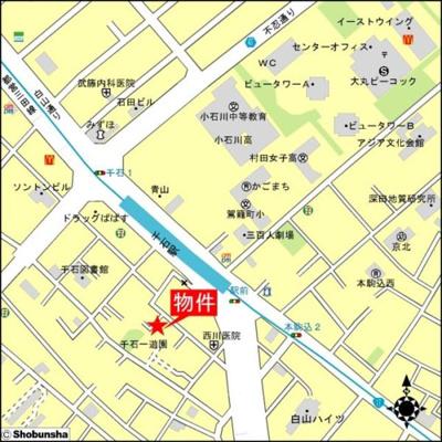 【地図】ラ・フラッツ