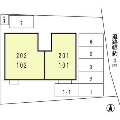 【区画図】サンハイツ和田