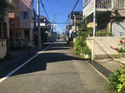 【前面道路含む現地写真】甲子園浜田町戸建