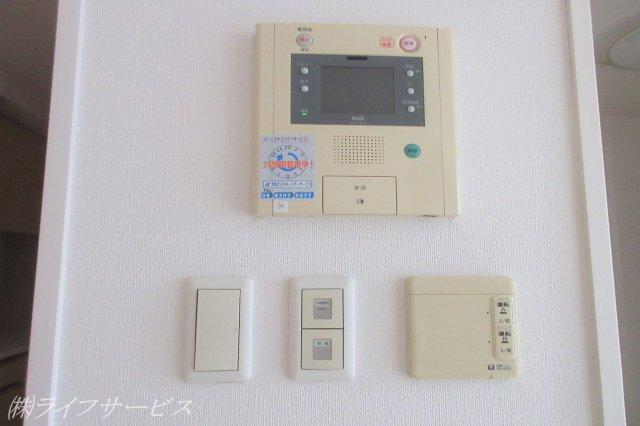 TVモニター付インターホン/床暖房