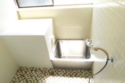 【浴室】雁子浜貸家
