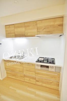 【キッチン】越谷スカイハイツB