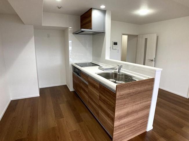 【キッチン】西区下山門1丁目 中古マンションオール電化 3LDK 7階