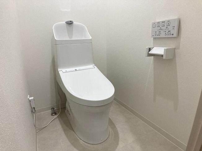 【トイレ】西区下山門1丁目 中古マンションオール電化 3LDK 7階