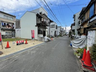 前面道路含む現地(令和3年7月撮影)