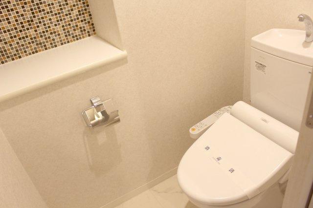 【トイレ】早良区西新1丁目 中古マンション 1LDK 11階