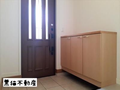 【玄関】サンタモニカD棟