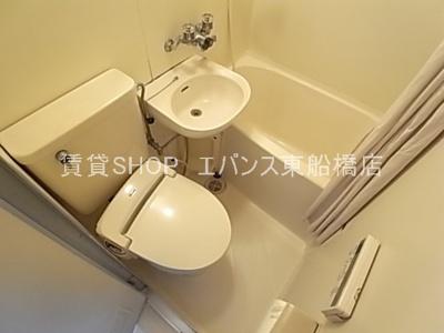 【浴室】ベルピア東船橋第1