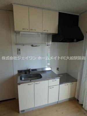 【キッチン】クリオコート西鎌倉