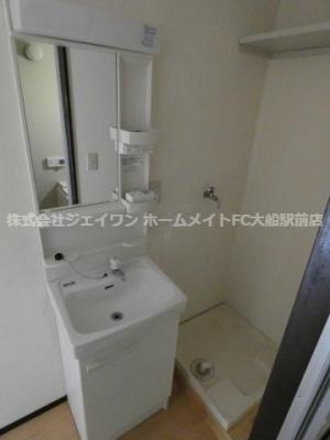 【洗面所】クリオコート西鎌倉