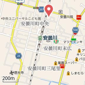 【地図】グランアルブルS