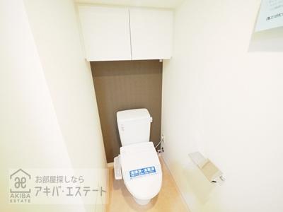 【トイレ】ステージファースト両国Ⅱアジールコート