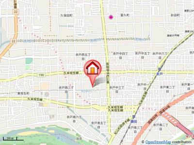 【地図】バリュージュ大西