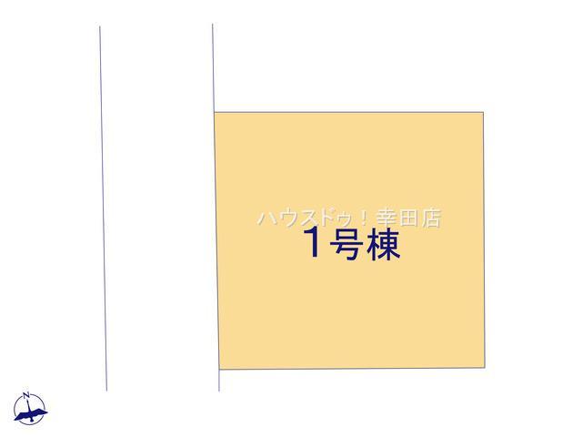 【区画図】西尾市一色町一色21-2期(シリーズ名:リナージュ) 全1戸
