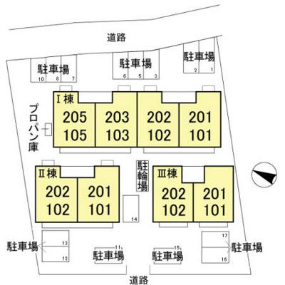 【区画図】グランディール富士 Ⅱ