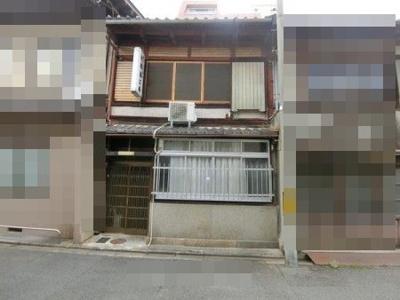 【外観】中京区西ノ京南聖町 建築条件無し 売土地