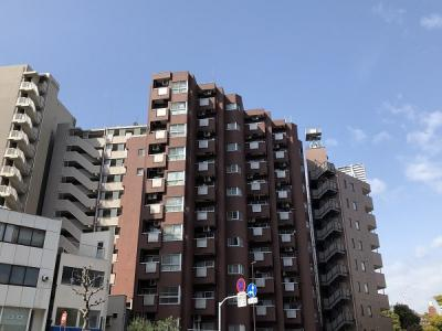 【外観】日興パレス永代 3階 角 部屋 リ ノベーション済 門前仲町駅8分