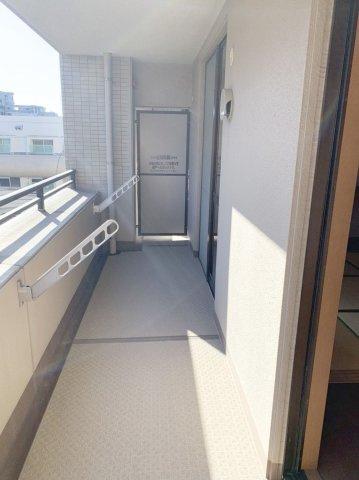 【バルコニー】城南区鳥飼4丁目 中古マンション2LDK 4階