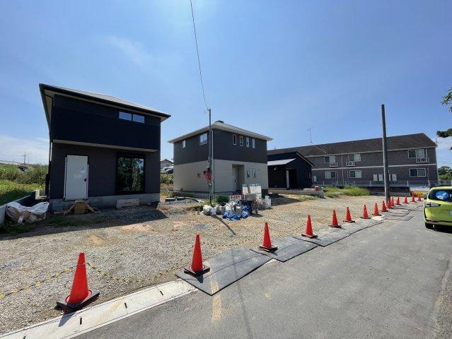 【前面道路含む現地写真】サンコート宇部市西岐波5号地 新築戸建
