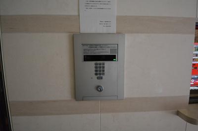 リンクパラッツォ上本町 オートロック