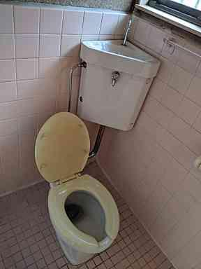 【トイレ】前田貸家