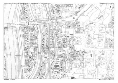 【地図】2018年築、最寄り駅4分の収益アパート
