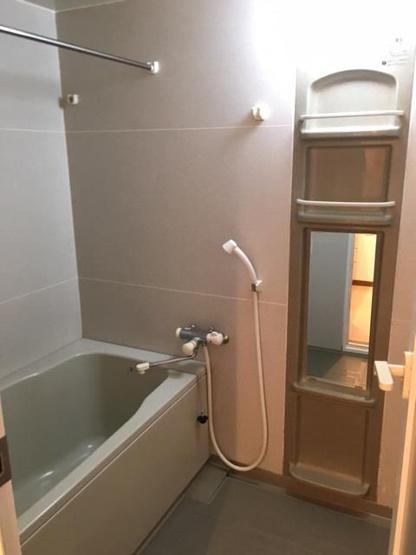 【浴室】南区長住5丁目 中古マンション3LDK 1階
