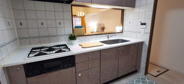 【キッチン】南区長住5丁目 中古マンション3LDK 1階