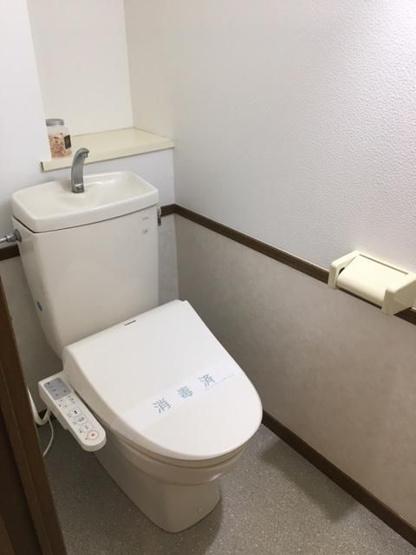 【トイレ】南区長住5丁目 中古マンション3LDK 1階