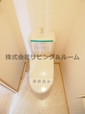 【トイレ】シャーメゾン・厨台