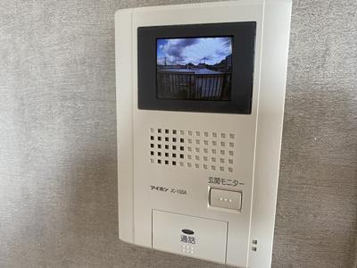安心のTVモニターホン