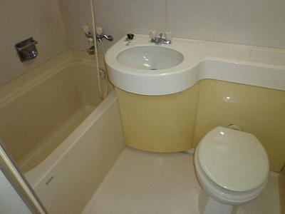 【浴室】ときわハーバーハイツ