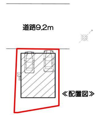【区画図】岡崎市福岡町 2期 新築一戸建て FF