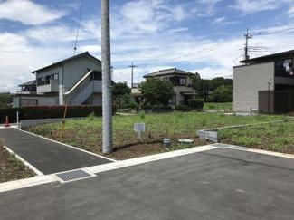 【外観】鴻巣市箕田の売地 A区画