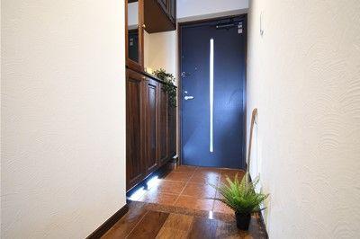 【玄関】南区皿山3丁目 中古マンション3LDK 3階