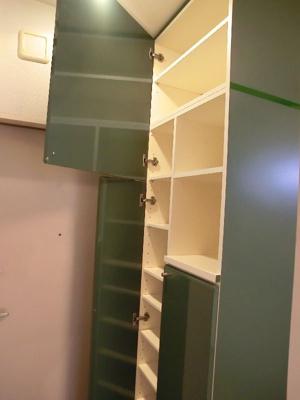 グリーンベルハイツ 307 下駄箱も大量に収納できます