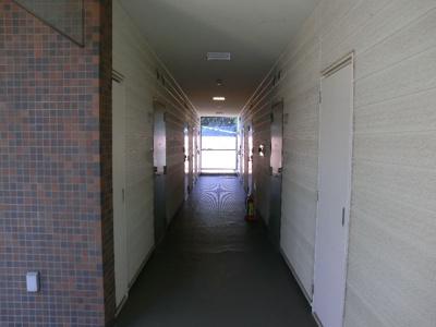 グリーンベルハイツ 307 内階段の内通路なので常にキレイ