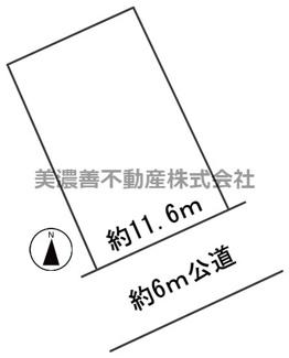 【区画図】57091 岐阜市中川原土地