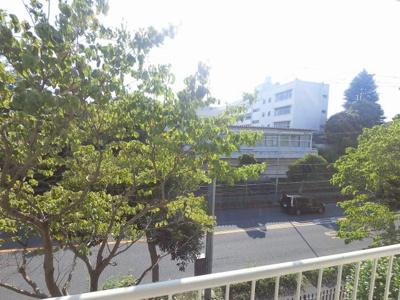 1階部分からの眺望です。